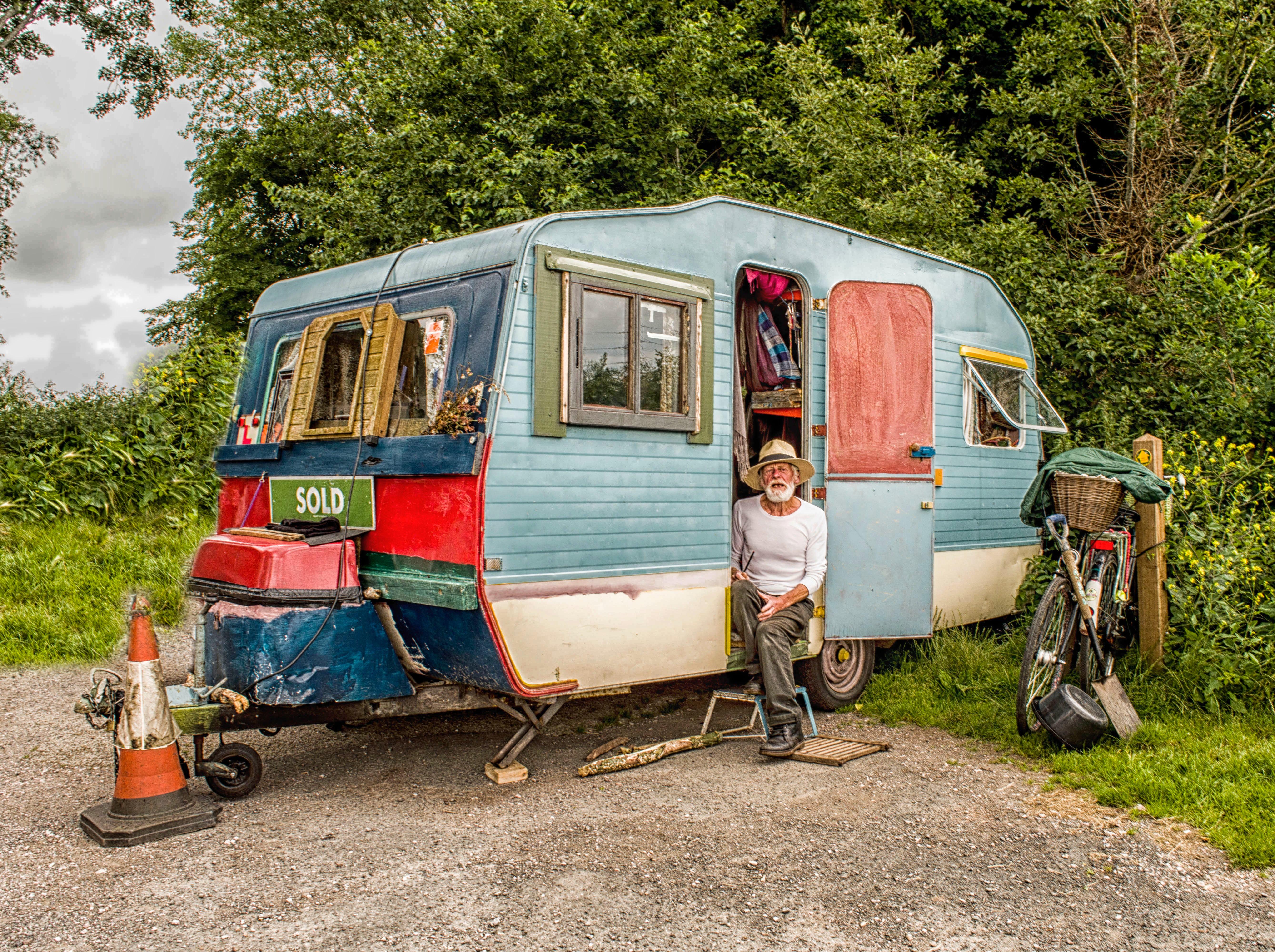 Caravan wasstraat